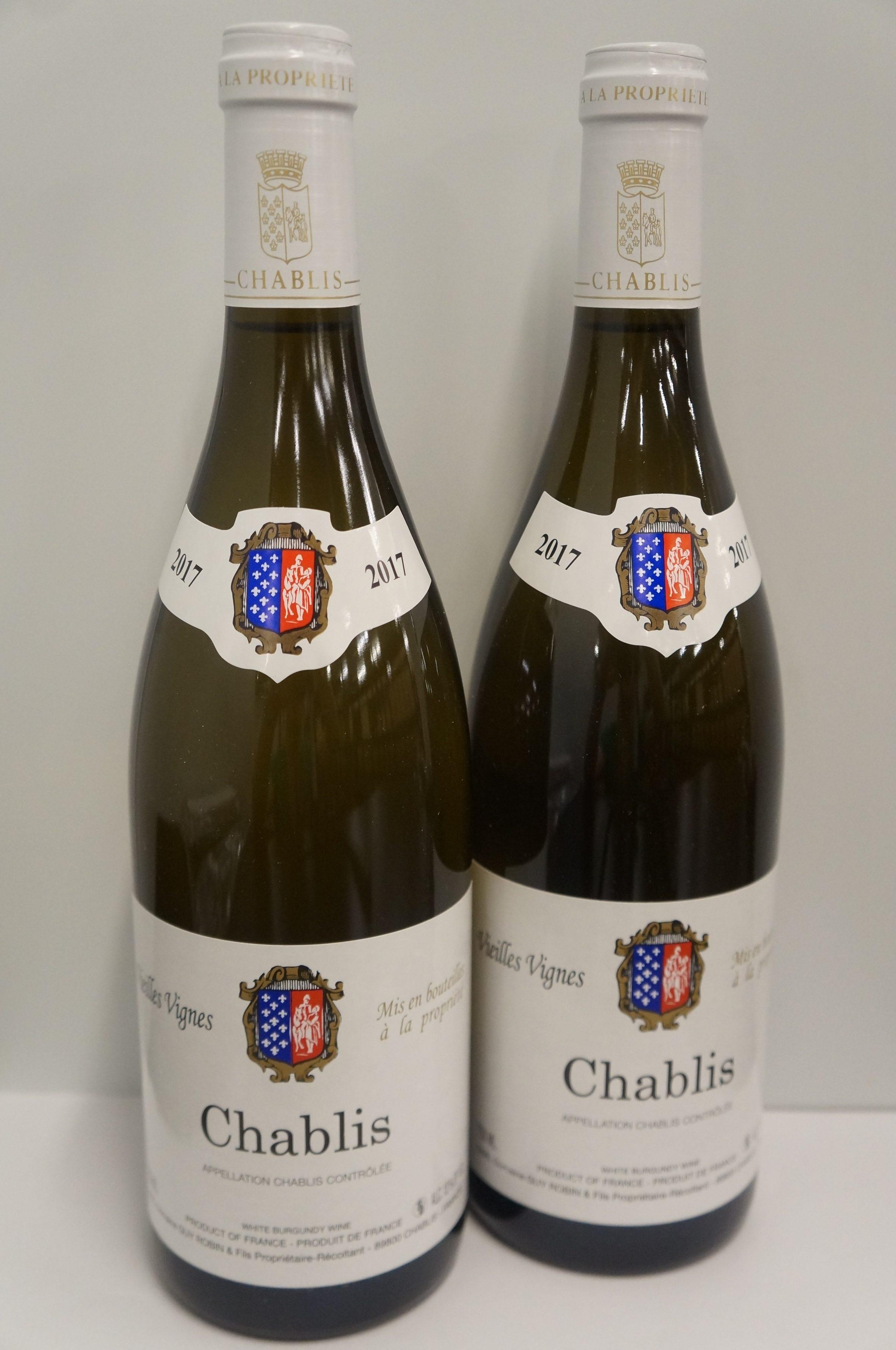 Domaine Guy Robin Chablis Vieilles Vignes 2017